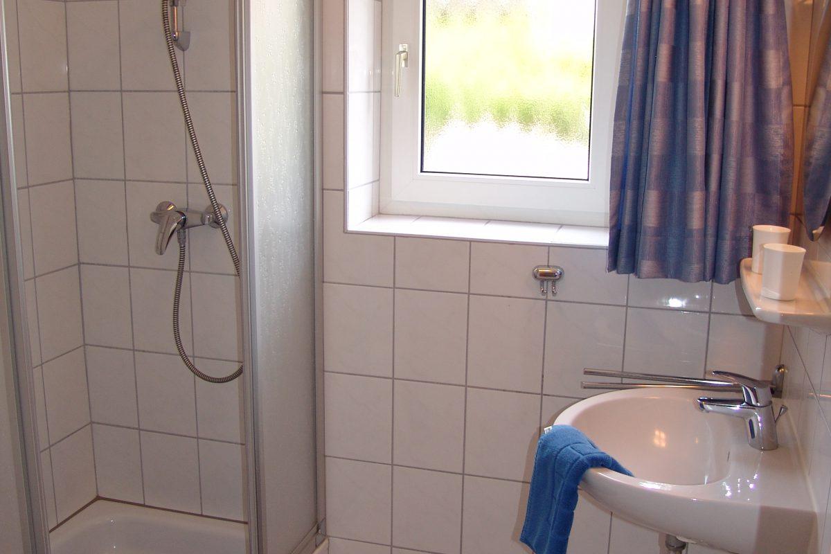 Badezimmer im Haus Nordlicht 1